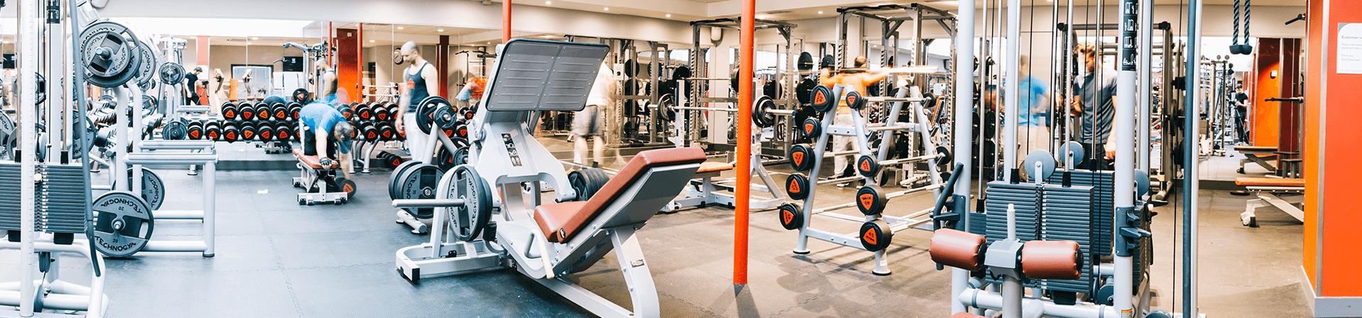 Gym at Porchester Centre