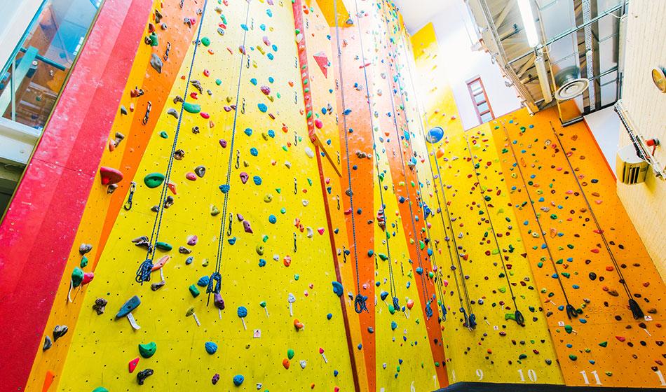 Seymour Climbing