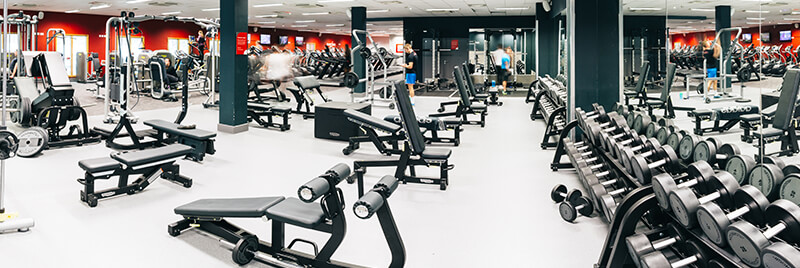 Gym at Plymouth Life Centre
