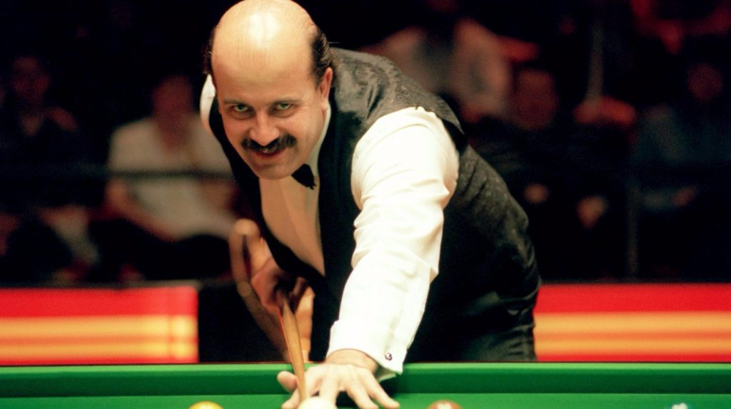 Willie Thorne - top 10 sporting Moustaches