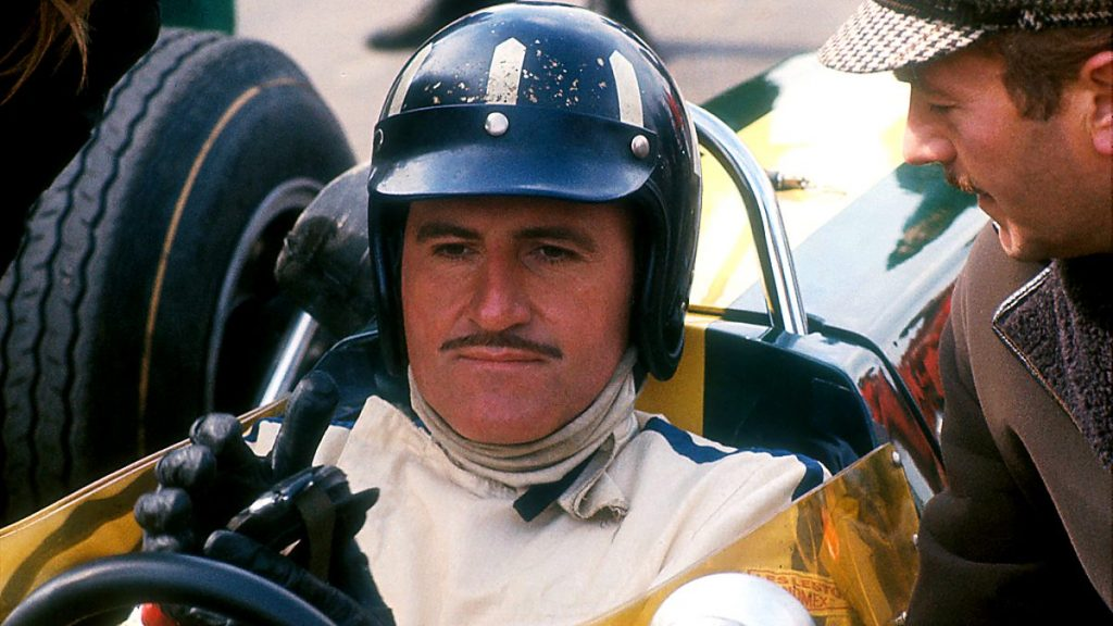 Graham Hill - top 10 sporting Moustaches