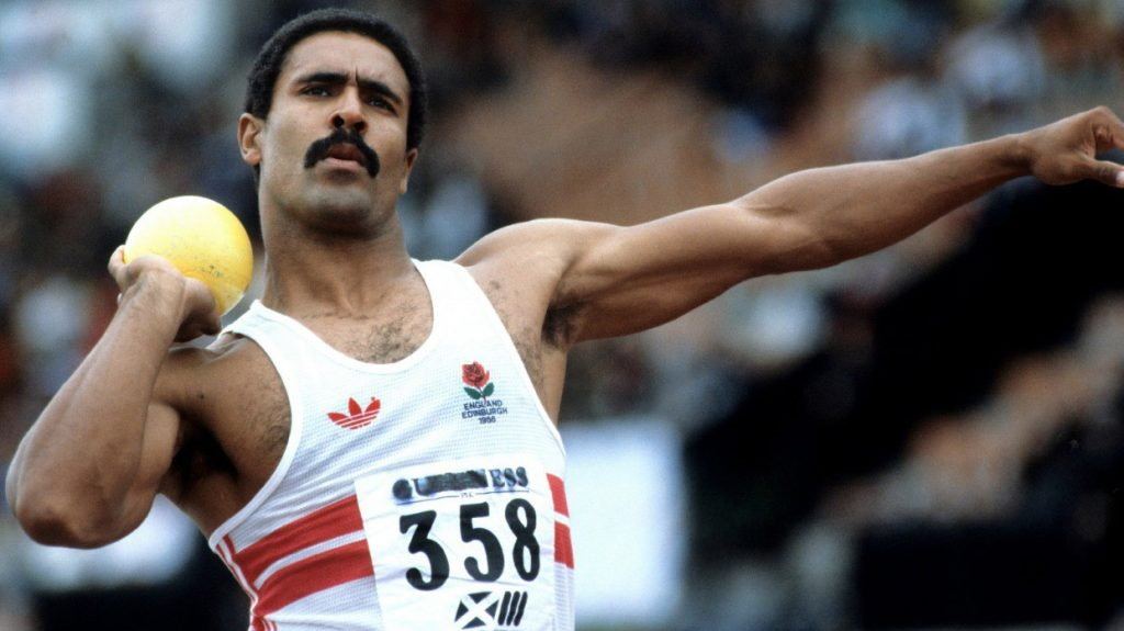 Daley Thompson - top 10 sporting Moustaches