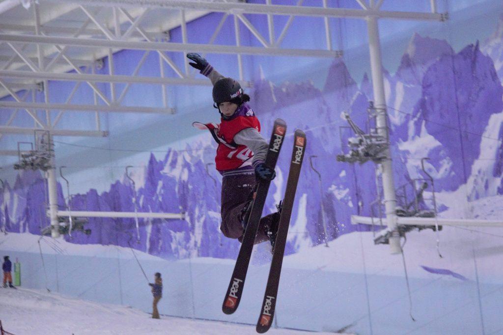 thea fenwick skiing