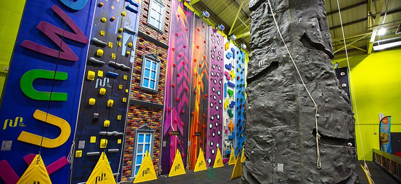 Parklands Clip Climb Climbing walls