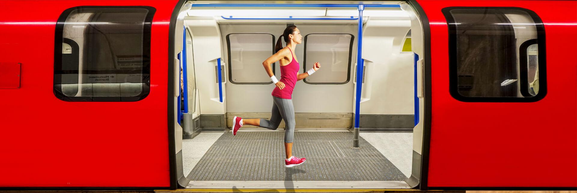 Runner on underground carriage