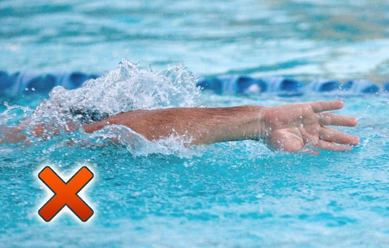 freestyle swimming technique