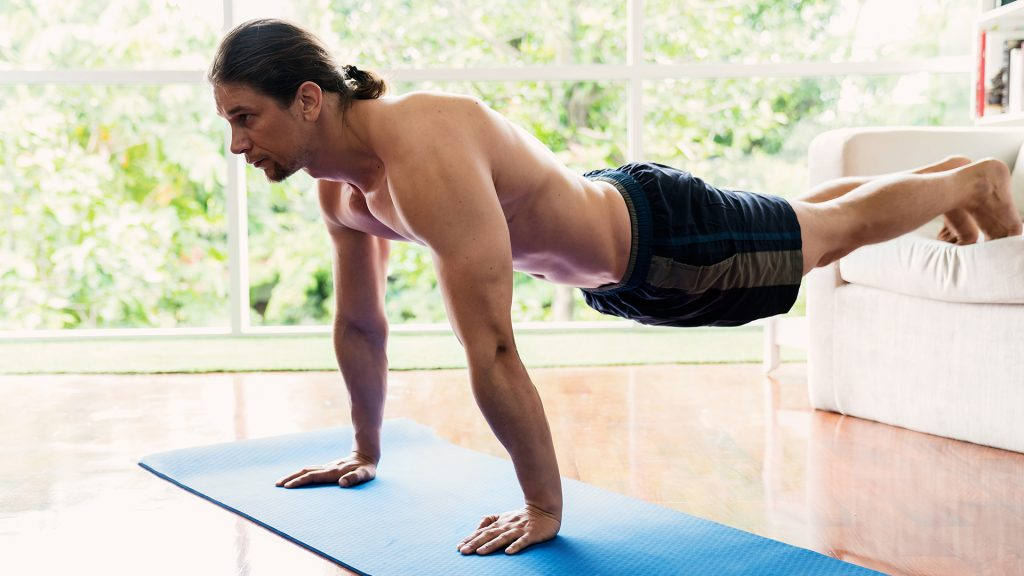 elevated push ups home arm workouts