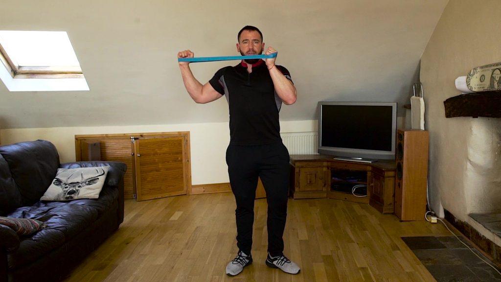 shoulder workout shoulder shaper external rotation