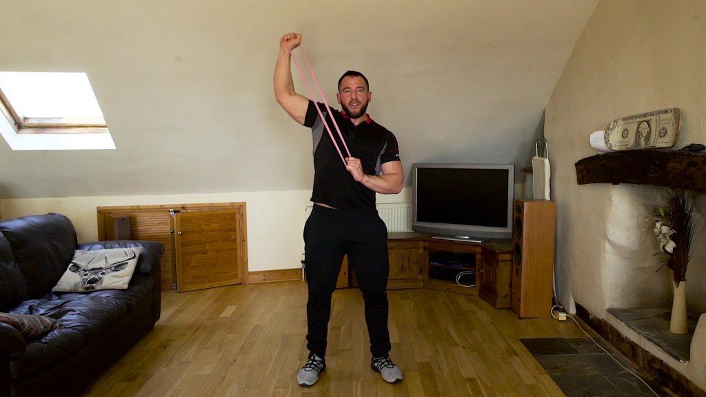 home shoulder workout