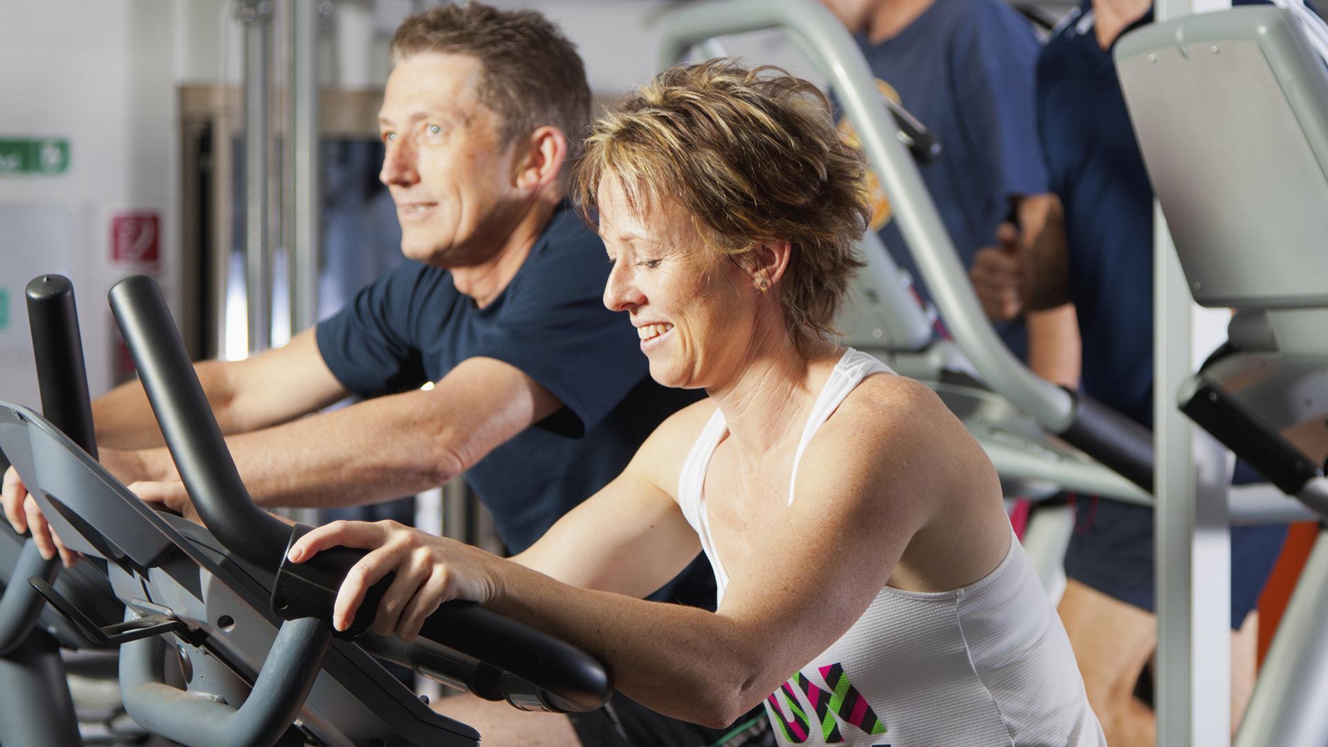 senior MCRactive gym memberships