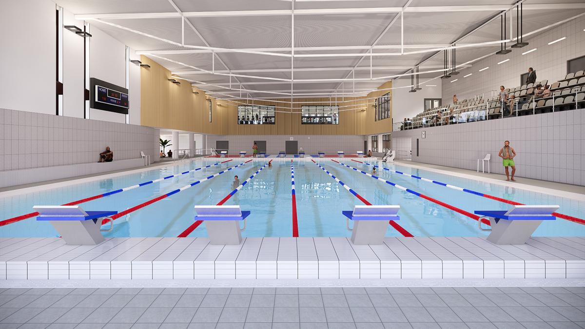 Grange Paddocks New Swimming Pool